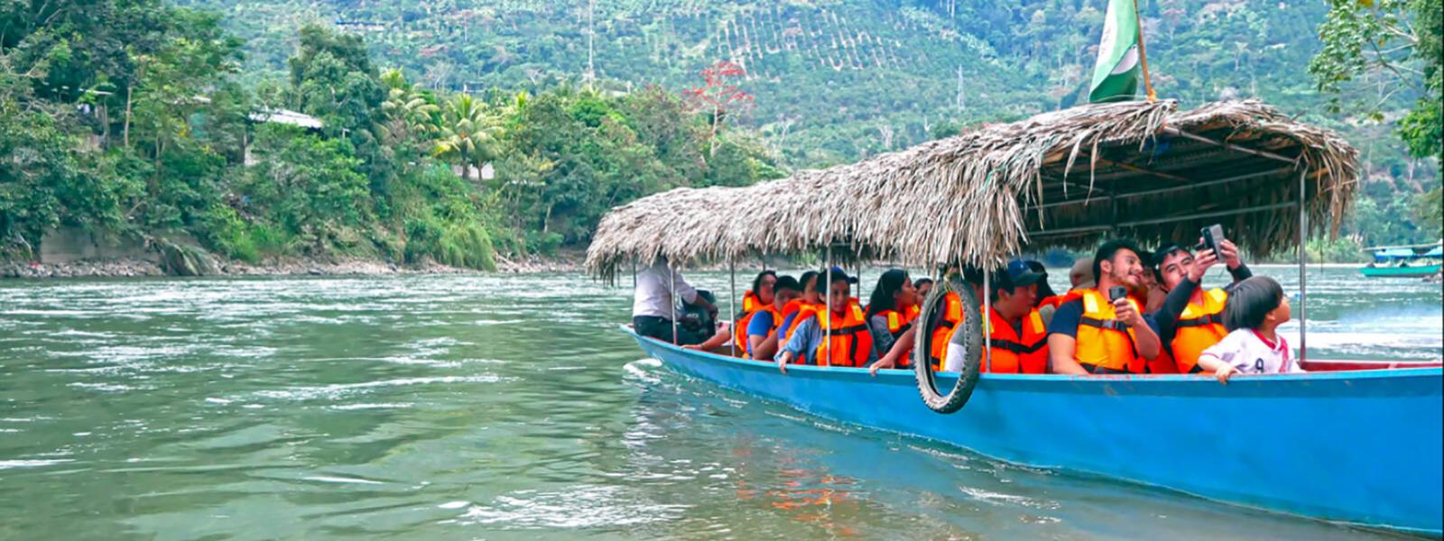 Paseo en bote Río Perené